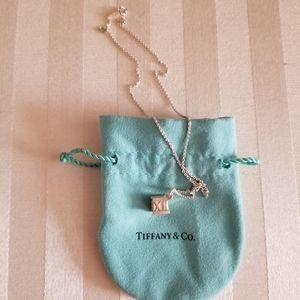 Tiffany & Co Altas Roman Numerals Cube